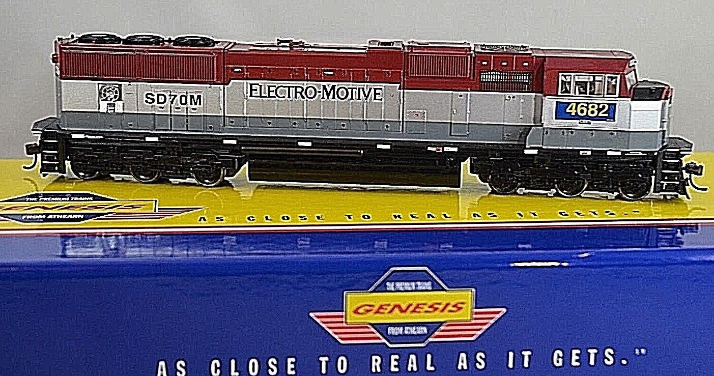 ATHEARN GENESIS CSX/Ex-EMDX SD70M  4682 HO Locomotive G6162 Electro Motive