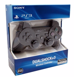 Sony-PS3-Wireless-Dualshock-3-Controller-Gamepad-charcoal-Black-Promotion