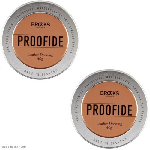 Seat Care Dressing 2019 Genuine Brooks Proofide 25g or 40g Leather Bike Saddle