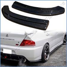 Carbon Fiber Rear Diffuser Lip Spoiler For Mitsubishi Lancer EVO 9 IX JDM Only