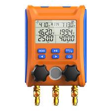 Elitech Lmg 10 Digital Manifold Gauge Hvac Intelligent Pressure Gauge Kit