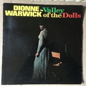 DIONNE-WARWICK-in-VALLEY-OF-THE-DOLL-EX-EX-VINYL-LP-MONO-1st-pressing