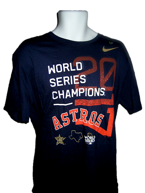 cheap for discount 5d19c 70e91 Houston Astros Nike 2017 World Series Champions T-shirt MLB Celebration  X-large