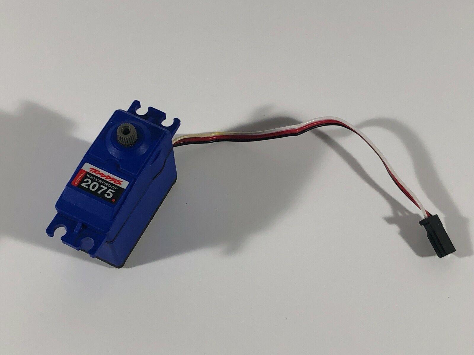 TRAXXAS 4TEC 2.0 2075 Waterproof Steering Servo Short Wire