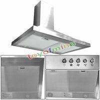 """GTC Europe 30"""" Kitchen Wall Mount Stainless Steel Range Hood Stove Vents"""