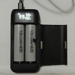 Tesla-powered-21700-Powerbank-PB2S-CHARGER-WITH-4ea-5000-mah-cells-INCLUDED