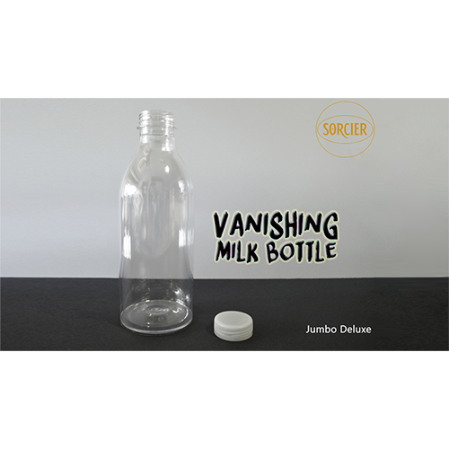 Vanishing  Milk Bottle (JUMBO DELUXE) by Sorcier Magic  nuovo di marca