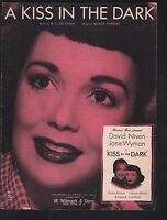 A Kiss in the Dark 1957 Jane Wyman David Niven Spanish and English Lyrics