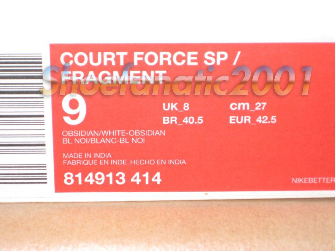 790a0f564e3 ... Nike Court Force SP Fragment Fragment Fragment Good Enough Quickstrike  Supreme Nike Lab Obsidian 42ad0e ...