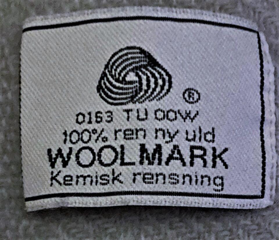 Plaid, 100% Uld - Woolmark, b: 125 l: 160