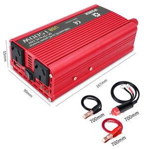 1500W-3000W-Midified-Sine-Wave-Power-Inverter-DC-12V-TO-AC-240V-Car-2-USB-Boat