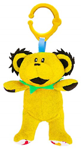 Daphyl/'s Grateful Dead Dancing Bear Interactive Plush Toy /& Rattle Infant