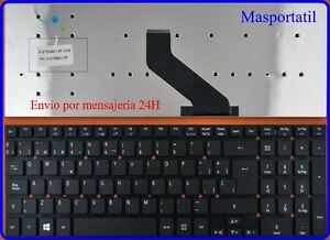 Tastiera-Spagnolo-Nuovo-Acer-Aspire-PK130IN1A13-PK130IN1A14-TEC8