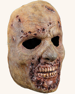 Adult Zombie Mask The Walking Dead AMC Rotted Walker Latex Halloween Scary NEW