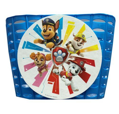 color azul 838053 Paw Patrol cesta de plástico