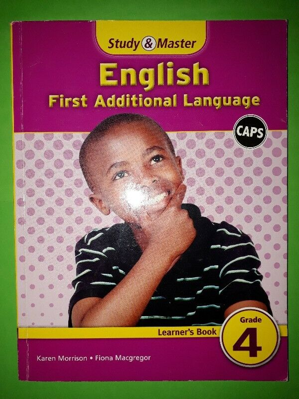 English - First Additional Language - CAPS - Study & Master - Learner's Book - Grade 5.