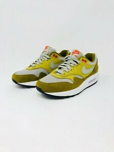Details about Nike Air Max 1 Premium Retro GREEN CURRY Men's Size 6 Olive Flak (908366 300)