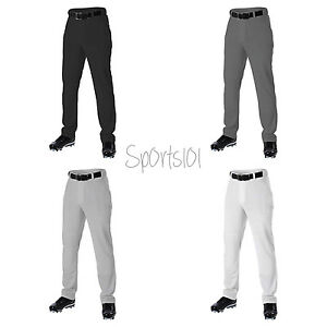 b32b6f30115 Image is loading Alleson-Athletic-Youth-Baseball-Pant-White-Gray-Black-
