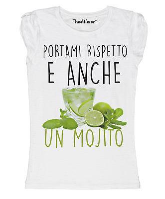 New T-Shirt Donna Fiammata Pollon Sembrava Talco Idea Regalo