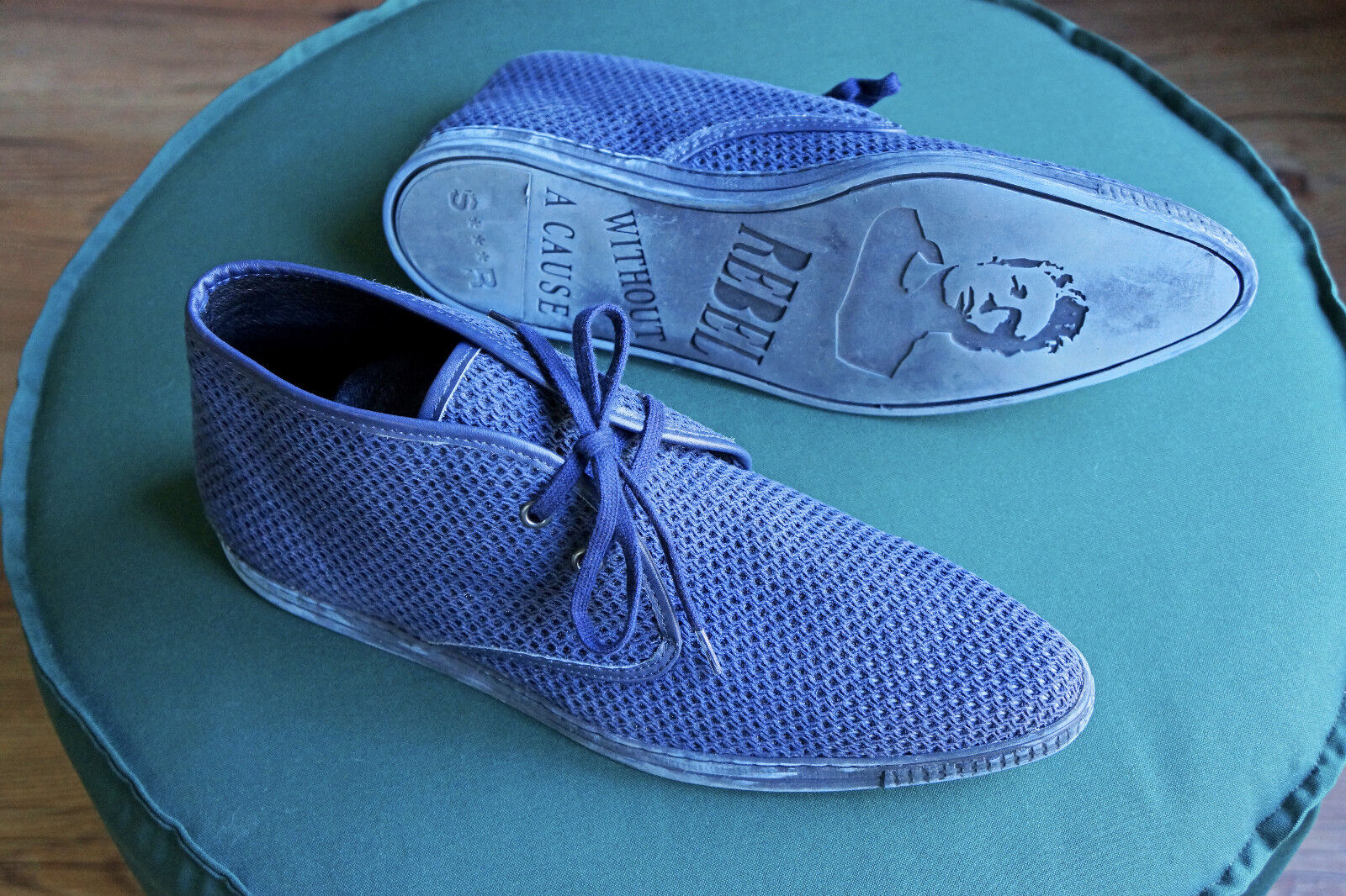 Swear Dean 110 - blau/blue - Größe/Size (EU) 43 - 1x anprobiert - nie getragen