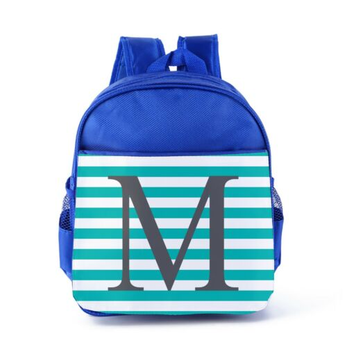Personalised Kids Backpack Any Name Initial Boys Childrens Back To School Bag 14