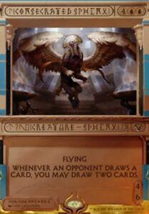 Sphinx-Consacre-PREMIUM-FOIL-Consecrated-Amonkhet-Invocations-Magic-mtg