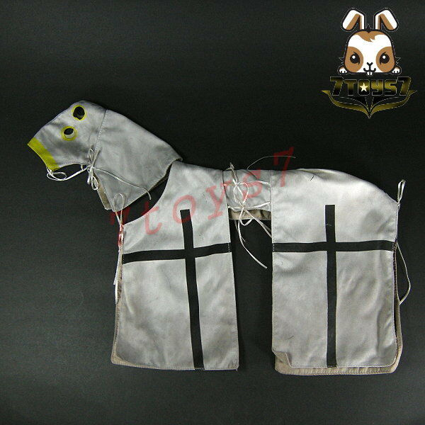 ACI Toys 1 6 H03 War Horse for Teutonic Knight_ Horse Blanket _Medieval AT093XA