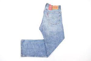 outlet boutique purchase cheap sale online Dettagli su Levis 505 Sdrucito Strappato Taglio Al Ginocchio Sbiadito 32  Jeans Uomo Nwt