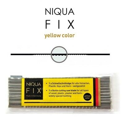 horn ##2//0-12 Pack of 12 pcs Quick cutting saw blade NIQUA FIX REVERSE for wood