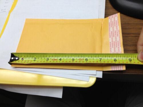 SuperPackage® 100 #000 4 X 8 Inner: 4 X 7 Kraft Bubble Mailer Padded Envelopes