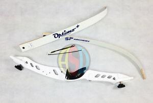 """Core Archery Pro Descendre Complet Arc Bow Blanc 70"""" Bow Longueur-afficher Le Titre D'origine"""