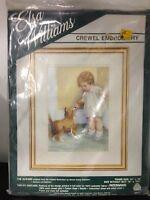 Elsa Williams Crewel Embroidery the Reward 00317, Vintage And Sealed