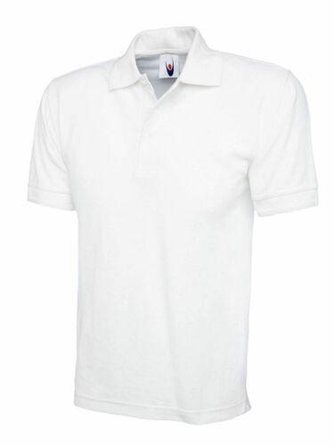 Uneek Unisex Premium Maglietta UC102 Work Wear Top causale