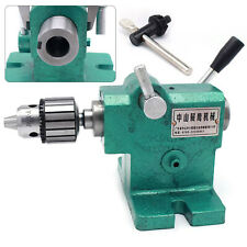 Lathe Tailstock Assembly Simple Fast Expansion Spindle Tailstock Tip Mt3 Diy Usa
