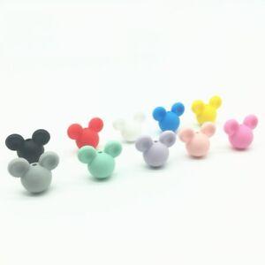 Perle-en-Silicone-Souris-24mm-x-20mm-Mickey-Creation-Attache-tetine-bijoux