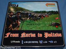 Strelets 904-desde Narva a Poltava. sueco Gnw tropas. 1/72 escala de plástico