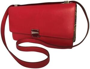 f4efb849f0 Céline Paris Celine Phoebe Classic Box Python Red Liege Leather Bag ...