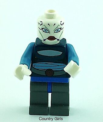 LEGO STAR WARS ASAJJ VENTRESS MINIFIGURE 2008 7676 rare Clone Wars Force Awakens