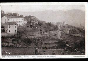 SANTO-PIETRO-di-TENDA-CORSE-VILLAS-animees-vues-de-POGGIOLO-en-1947