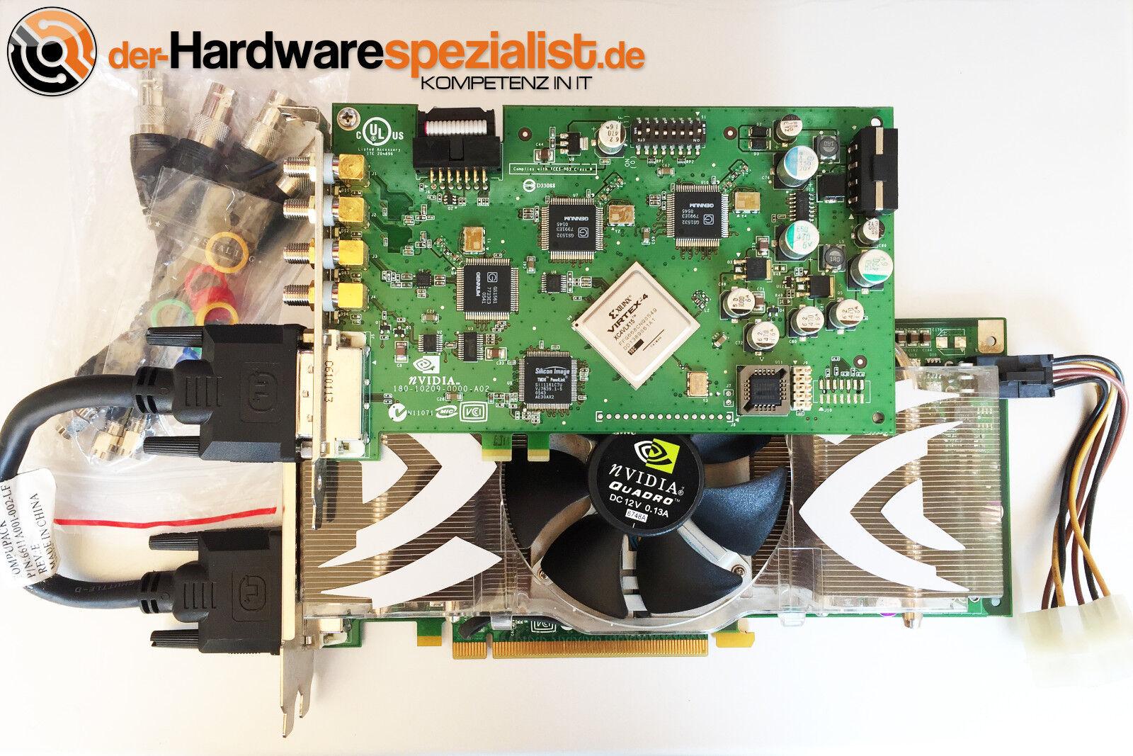 - PNY NVidia Quadro FX4500 SDI inkl PNY HD-SDI-Option TV Broadcast 3D Graphics -