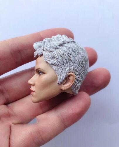 """1//6 Scale Storm Halle Berry Head Sculpt for 12/"""" Action Figure"""