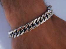 LARGE HEAVY CLASSIC LINK CHAIN  STAINESS STEEL 316L JEWELLERY BRACELET