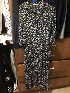 Zara-Cotton-Florlal-Maxi-Dress-Sz-8-10-Rrp-99