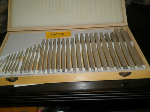 """29 PIECE CHUCKING REAMER SET HSS 1//16/"""" TO 1//2/"""" BY 64TH NEW"""