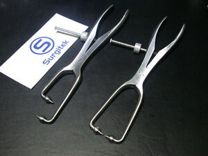 Pelvic-Bone-Reduction-Forceps-9-034-Angled-9-034-Straight-1x1-Ball-Supper-Quality