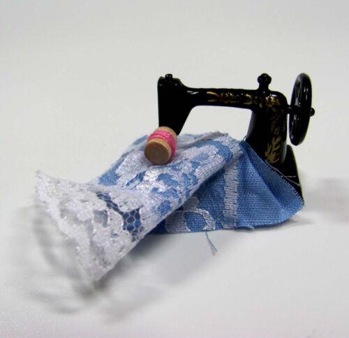 hilo casa de muñecas en miniatura sustancia miniatura máquina de coser-tischnähmaschine 1:12