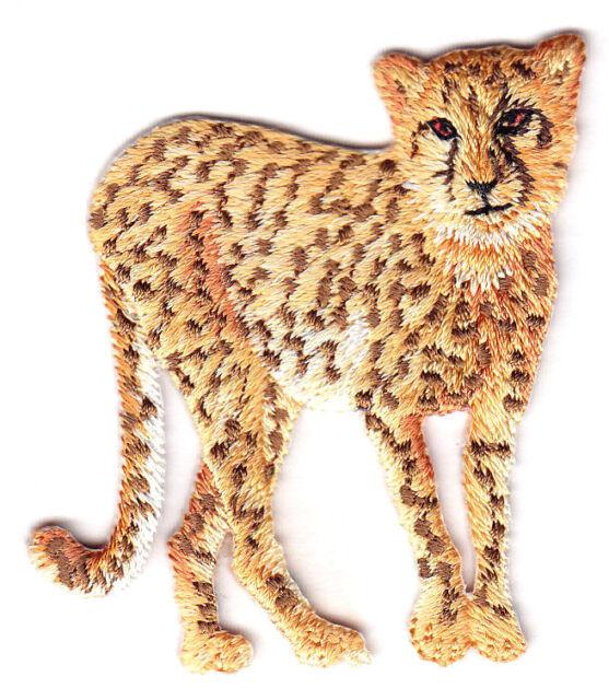 GIRAFFE HEAD Iron On Patch Zoo Animals Jungle Wild Animal