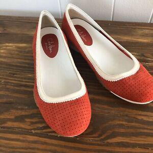 Womens Loafer Ballet Flat Shoes Sz 6.5