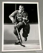 Original Late 50's Don Marshall Mtl Canadiens Photo
