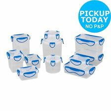 HOME Clip Fresh Plastic Food Containers - Pack of 10-From the Argos Shop on ebay